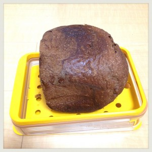 『斜めスライスガイド&ブレッドナイフセット』でパンを切ってみた。