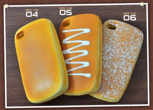 PLATA ( プラタ ) 05 iPhone4 用 パン デザイン ケース
