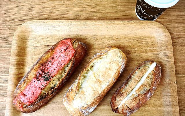 【高田馬場】フランスパン3兄弟を食べ比べてみる-馬場FLAT
