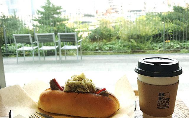 【ソラマチ】BE A GOOD NEIGHBOR COFFEE KIOSK感想