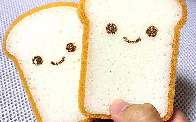 【DAISO/100均】ダイソーのトースト型キッチンスポンジが超可愛い♪