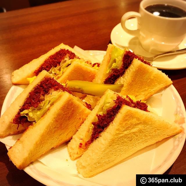 【中野】全面禁煙の喫茶店「エーライセンス」サンドイッチが侮れない - 東京パン