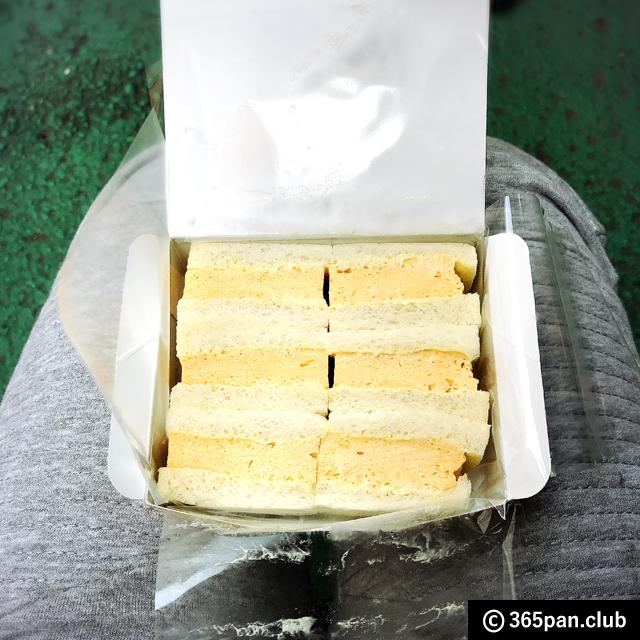 【新宿】甘党の老舗『天のや』ふわふわ玉子のサンドイッチ 感想09