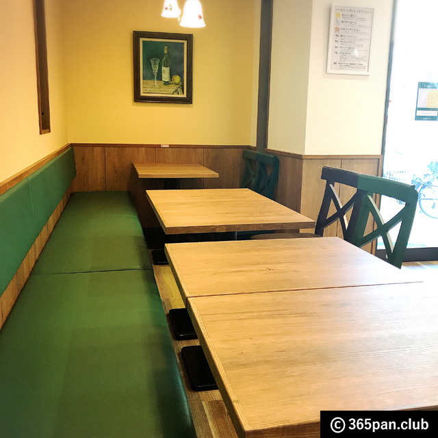【ひばりヶ丘】綺麗なカフェスペース「ベーカリー ピヨピヨ」感想04