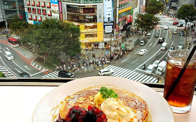 【渋谷】スクランブル交差点パンケーキ「シブヤパーラー」感想