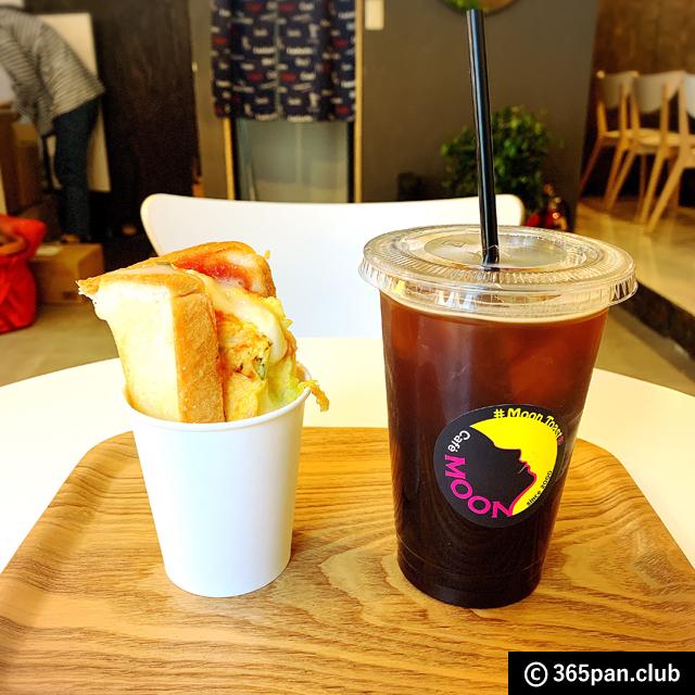【新大久保】話題のチーズトースト「Cafe MOON(カフェ ムーン)」感想07