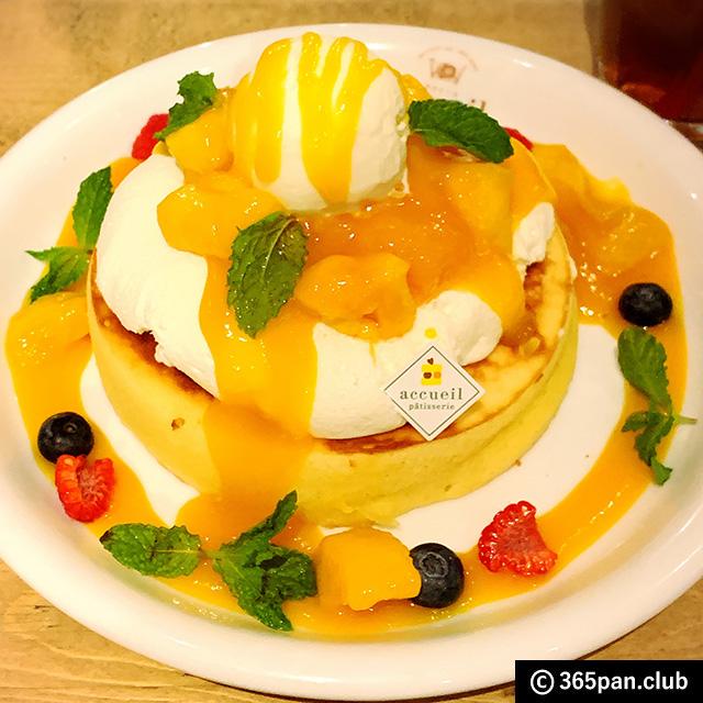 【恵比寿】天使のクリームパンケーキ「カフェ アクイーユ」感想05