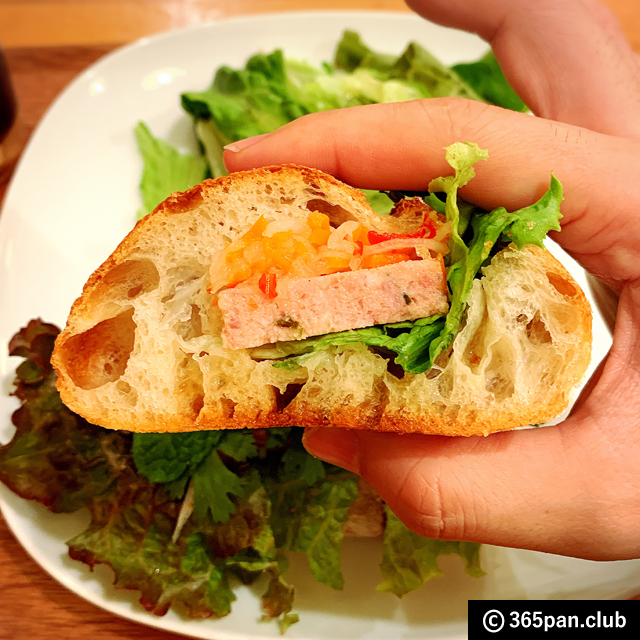 【荻窪】パン屋さんのバインミー「パンとcafe えだおね」感想-06