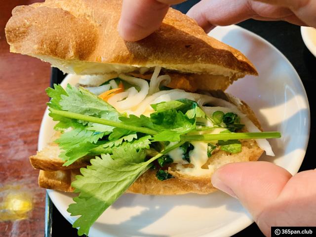 【高田馬場】ベトナムレストランで食べるバインミー「ノンラー」感想-10