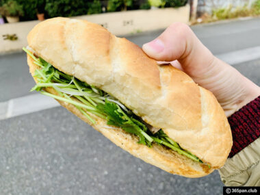 【高田馬場】ベトナムのサンドイッチ「バインミーシンチャオ」感想