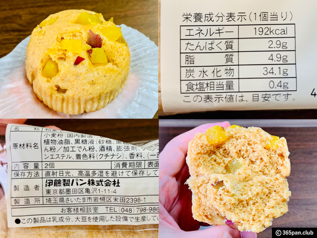 【SEIYU/西友】赤い屋根のパン屋さん「芋・栗」シリーズが面白いぞ-08