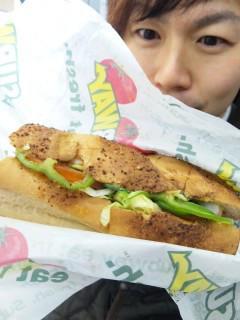 パンとサラダのバランスw - 東京パン
