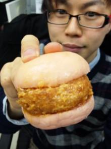 まい泉『エビかつバーガ ー』 - 東京パン