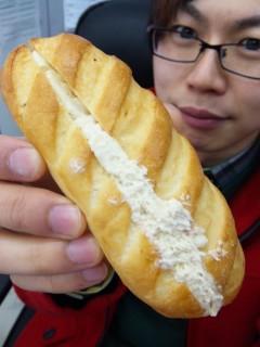 浅野屋『フランボア―ズマフィン』 - 東京パン