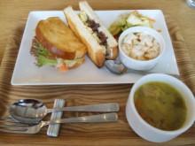 ukafe(ウカフェ)サンドイッチセット@東京ミッドタウン - 東京パン