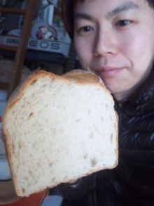 油分を使ってない有機パン♪ - 東京パン